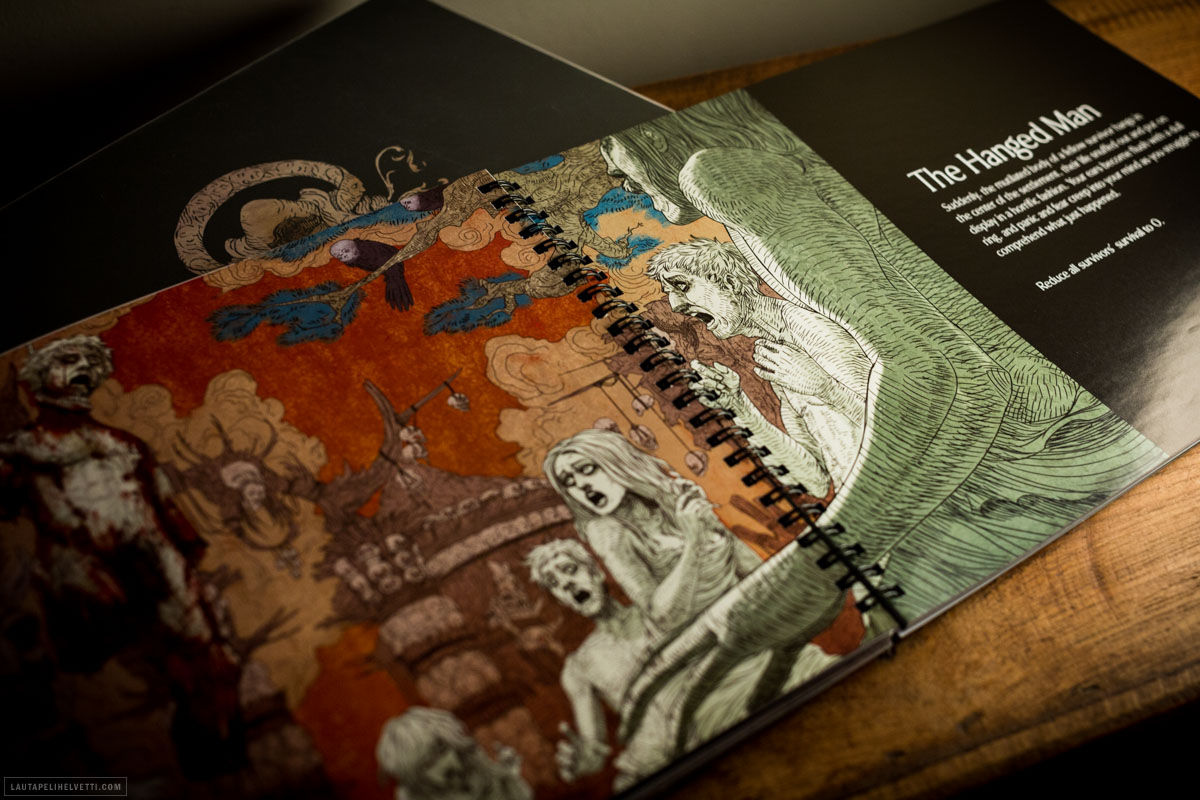 Kingdom Death -lisäosat kirja